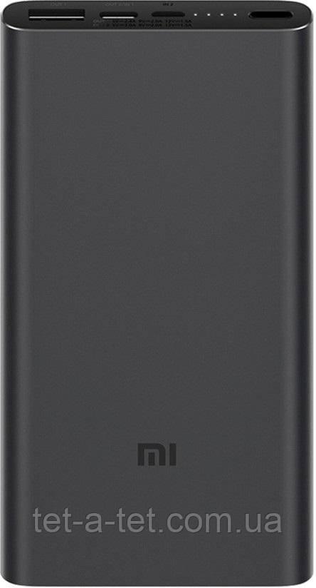 Портативная батарея (Power Bank) Xiaomi Mi 3 10000 mAh Black