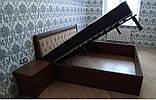 Дерев'яне ліжко Княжна з підйомним механізмом, фото 6