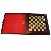 Шахматы Manopoulos Лучники латунь в деревянном футляре