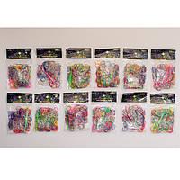 Резинки для Плетения / Разноцветный / 200 шт в пак./ 12 пакетиков в уп.