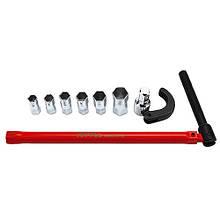 Ключ універсальний самозажимних 9-32мм 8ед. TOPTUL GNBA0801