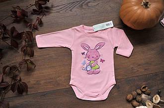 Боди детский  C+3  #1114 62 см розовый