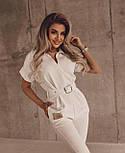 Модный комбинезон женский с брюками, фото 4