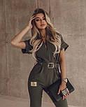 Модний комбінезон жіночий з брюками, фото 2