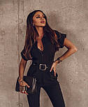 Модний комбінезон жіночий з брюками, фото 5