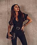 Модный комбинезон женский с брюками, фото 5