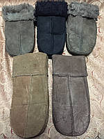 Теплые Мех Мужские перчатки/Варежки мужские Перчатки