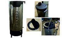 Дровяной водонагреватель для бассейна HOTPOOL 40квт + крышка под дымоход