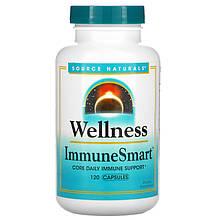 """Комплекс для иммунитета Source Naturals """"Wellness Immune Smart"""" витамины, минералы и травы (120 капсул)"""