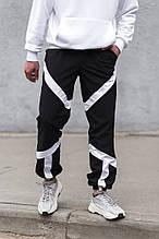 Мужские спортивные штаны из плащевки Ф