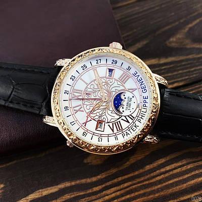 Часы наручные Patek Philippe Grand Complications 6002 Sky Moon Black-Gold-White