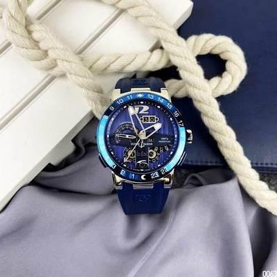 Часы наручные Ulysse Nardin Executive El Toro GMT Perpetual Blue-Silver-Blue