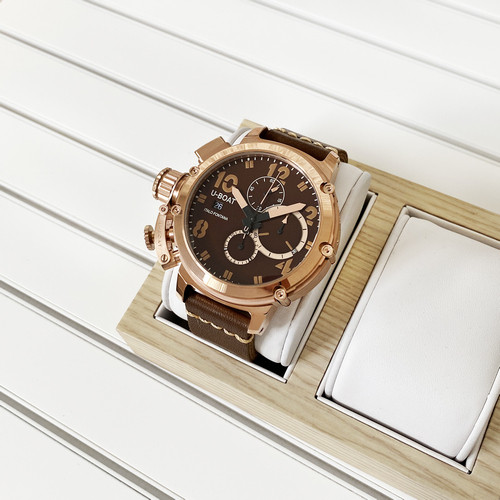 Часы наручные U-boat Italo Fontana Chimera Brown-Gold-Brown AAA