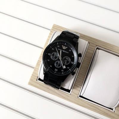 Часы наручные Emporio Armani AR-5905 Black Silicone