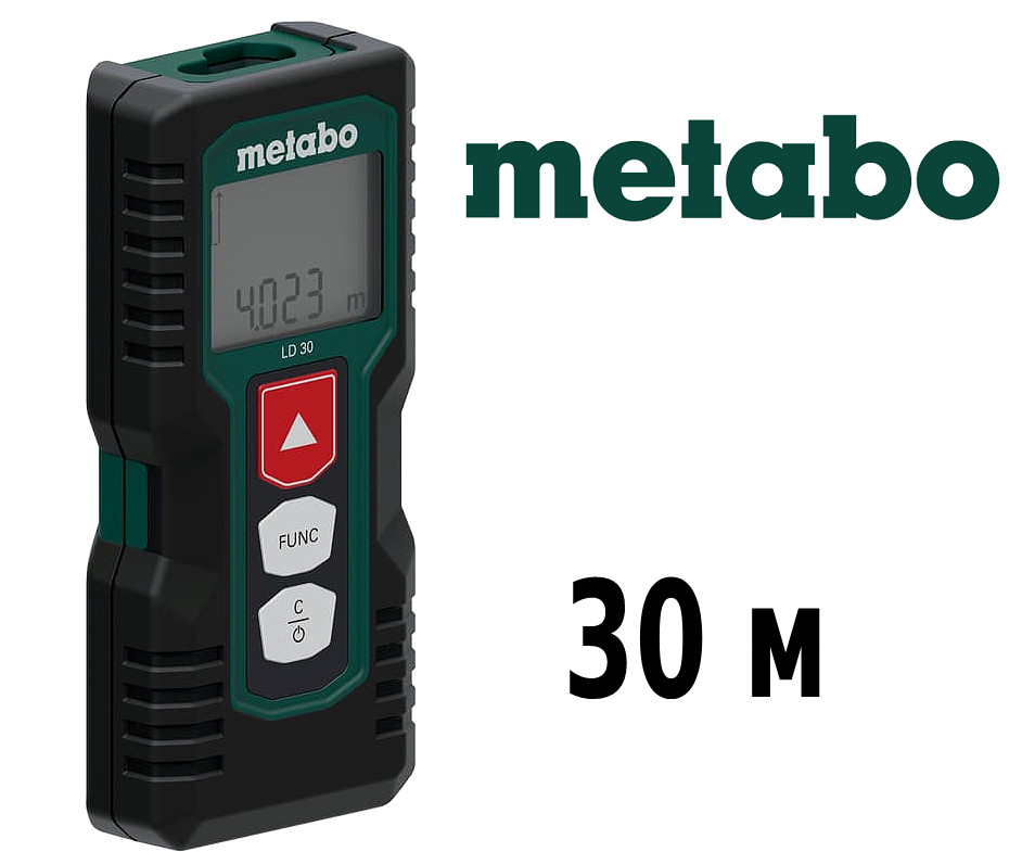 Лазерный дальномер 30м Metabo LD 30 (606162000)