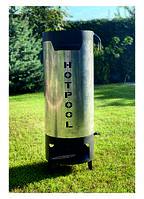 Дровяной нагреватель для бассейна HOTPOOL, водонагреватель, нагрівач для басейна, 35-40квт, до 40м3