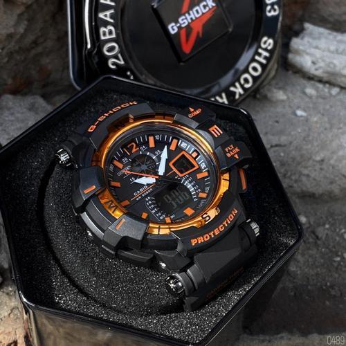 Casio G-Shock GW-A1100 Black-Orange