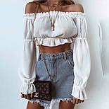 Модный топ женский с длинным рукавом, фото 2