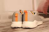 Чоловічі світло-сірі кросівки BAAS з наскрізною сіткою 41-45, фото 5