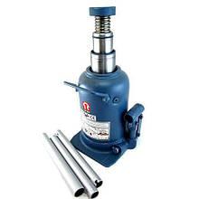 Домкрат гидравлический бутылочный телескопический 12т 240-590 мм TORIN TH812001