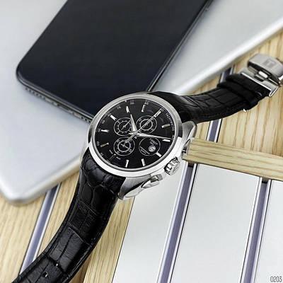 Часы наручные Tissot LT60 Chronograph Black-Silver