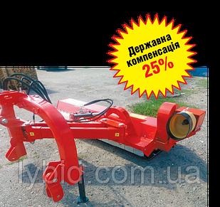 Подрібнювач садово-комунальний на поворотній рамі ПСКПР - 175, 200