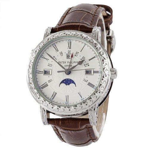Часы наручные Patek Philippe Grand Complications 5160 Sky Moon Brown-Silver-White