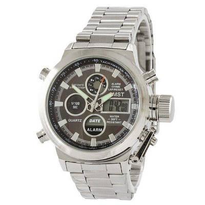 Мужские наручные часы AMST 3003C Metall Silver-Black