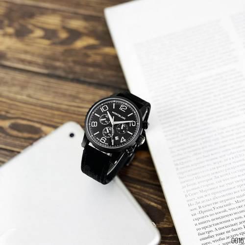 Годинники наручні Montblanc TimeWalker All Black