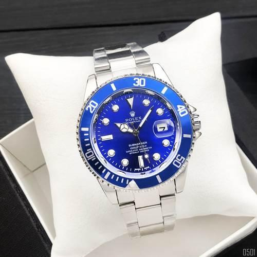 Rolex Submariner 2128 Quarts Silver-Blue