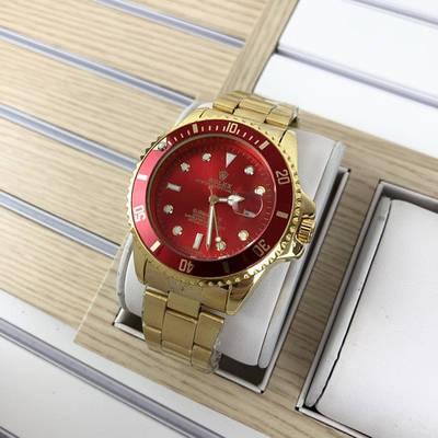 Rolex Submariner 2128 Quarts Gold-Red