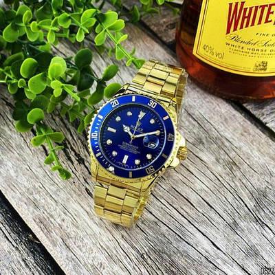 Rolex Submariner 2128 Quarts Gold-Blue
