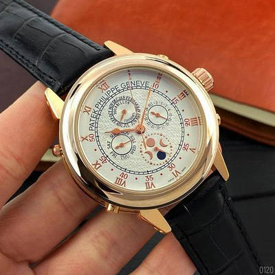 Часы наручные Patek Philippe Grand Complications 5002 Sky Moon Black-Gold-White