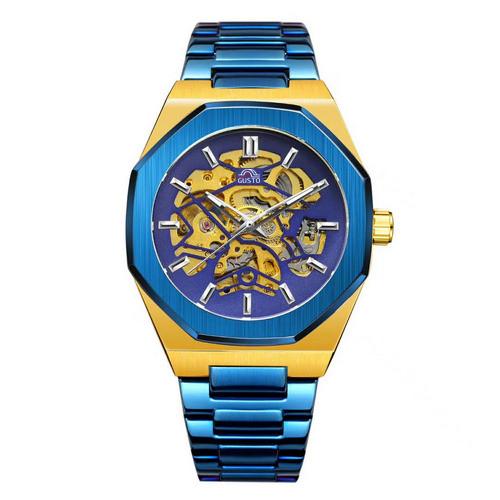 Gusto Skeleton Blue-Gold