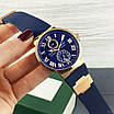 Часы наручные Ulysse Nardin Maxi Marine AAA Gold-Blue, фото 2