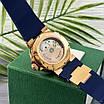 Часы наручные Ulysse Nardin Maxi Marine AAA Gold-Blue, фото 3