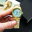 Rolex Date Just 067 Pearl Gold-Turquoise, фото 4