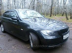 Дефлектори вікон (вітровики) BMW 3 2005 (E90)