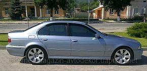 Дефлекторы окон (ветровики) BMW 5 (E39) sd 1995-2003