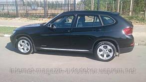 Дефлектори вікон (вітровики) BMW X1 (E84) 2009