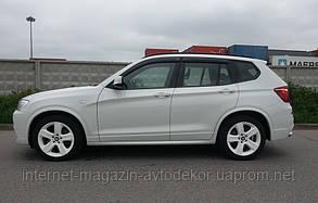 Дефлектори вікон (вітровики) BMW X3 2010-