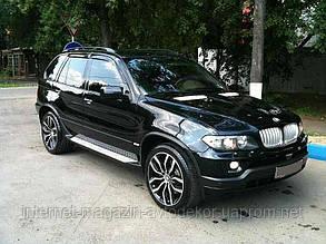 Дефлектори вікон (вітровики) BMW X5 (E70) 2007-
