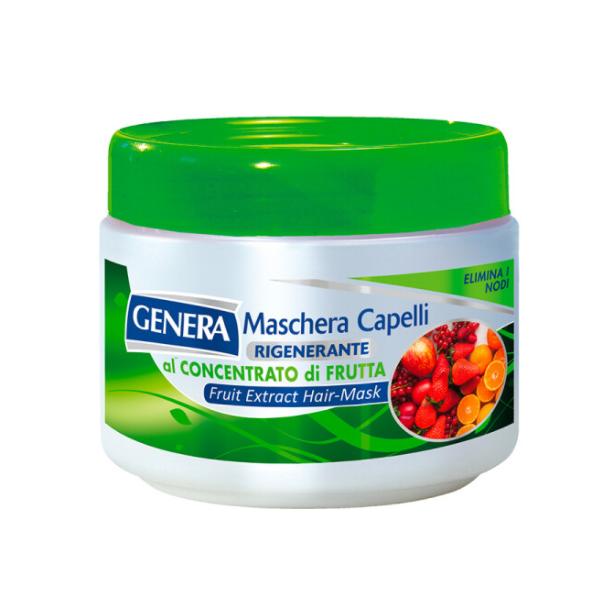 Маска для волосся GENERA HAIR CARE Італія з екстрактом фруктів 500 мл