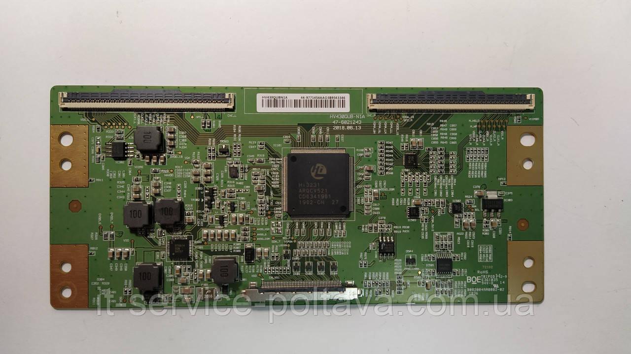 Плата T-Con HV430QUB-N1A ( HV430QUBN1A ) для телевізора Akai