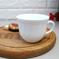 Белая чайная чашка без блюдца Luminarc Trianon 220 мл (D6921)
