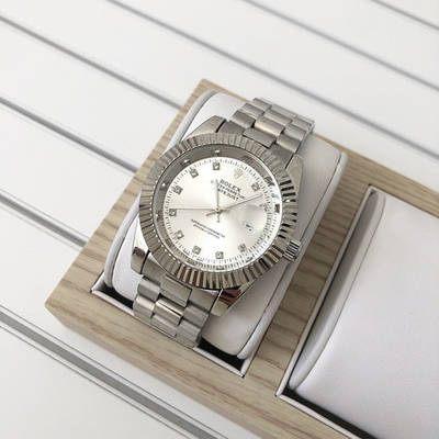 Женские часы Rolex Date Just 067 New All Silver
