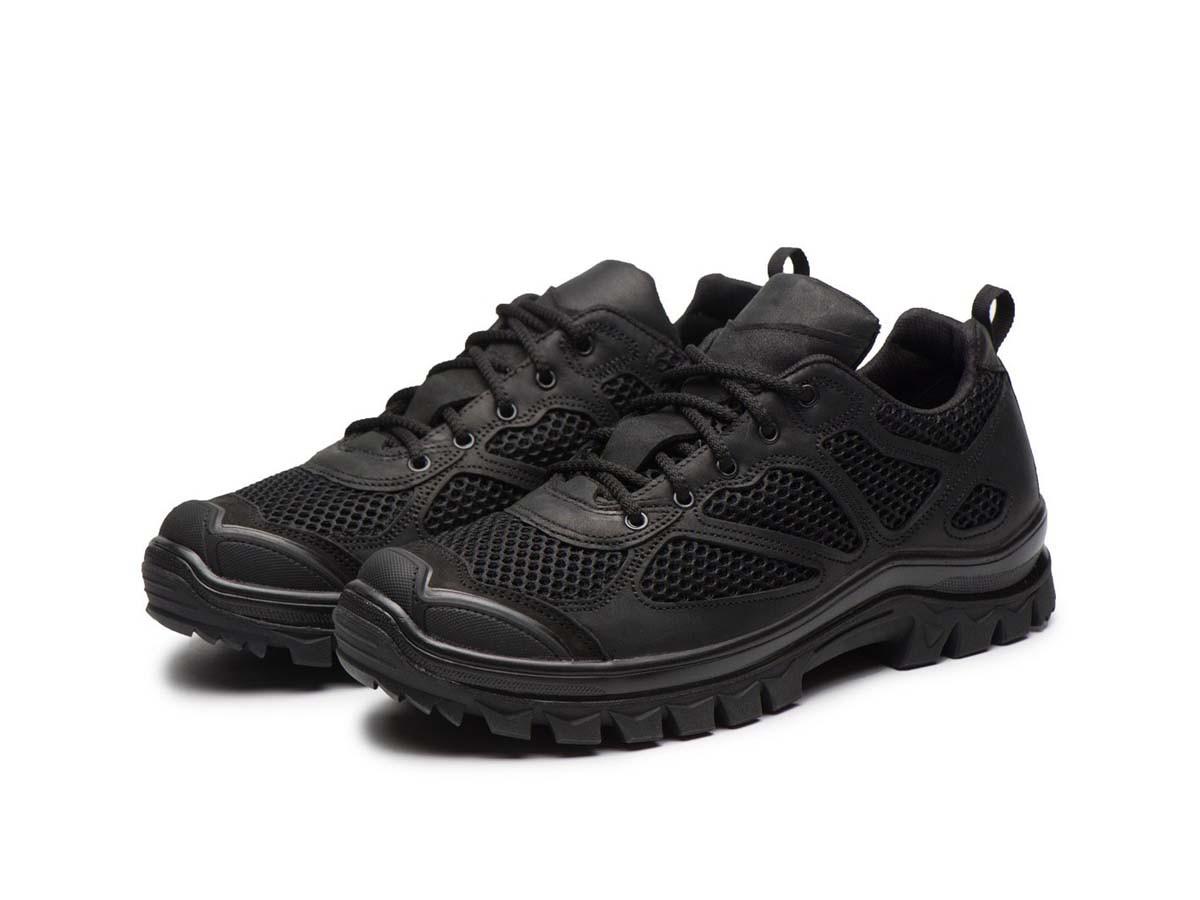 Тактичні кросівки 235 сітка/чорні