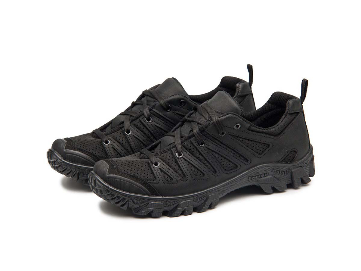 Жіночі трекінгові кросівки 220 сітка/чорні