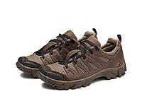 Трекінгові кросівки 220 сітка/коричневі
