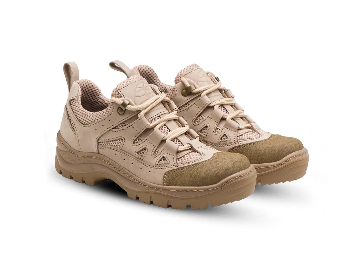 Жіночі тактичні кросівки 401 сітка/пустеля